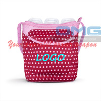 Free Shipping ! Customized Imprint Neoprene Three Bottle Tote, Baby Milk Bottle Bag, Lunch Bags, Purse,Boxes