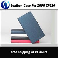 ZOPO ZP520 Case Fashion Collision color Original Leather Flip Case Cover For ZOPO ZP520 Smart Phone 4-colors Free Shipping