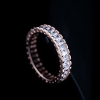 Ring For Women Austria Crystal Zircon Surround The Atmospheric Brand Jewelry Simulated Stone for Women Bridal Wedding