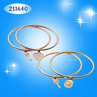 Luxury Brand rose gold Metal Chain Bracelets & Bangles Kors Letter Bracelets For Women Unisex lover gift