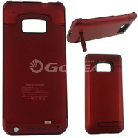 Hot Selling Red Slim Battery Case Cover 4200mah For HTC ONE M7 Cell Phones Accessories