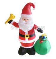 Christmas santo,Inflatable Christmas figurine,inflatable Christmas Gift ,Inflatable Christmas Decoration