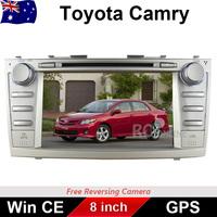 "8.0"" Car DVD GPS For TOYOTA CAMRY Altise Atera Sportivo Touring 2006-2011 ARM11 CPU GPS Blutooth USB, IPOD Free Reverse camera"