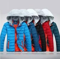 Wholesale! Man Plus size New 2014 Winter Casual Cotton-padded Winter Jacket Men Parka Winter Coat Men Parkas Free shipping B1383