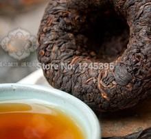Free Shipping 1990 Premium Yunnan puer tea Old Tea Tree Materials Pu erh 100g Ripe Tuocha