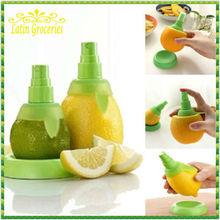 Wholesale! 1 Pair Citrus Fruit Orange Lemon Fresh Juice Spray Lime Mist Spritze Extractor Moulinex Veggetti Free Shipping(China (Mainland))
