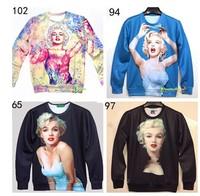 Men Women Space Galaxy hoodies Sweaters 3D Sweatshirt Tops T-Shirt Tee S/M/L/XL