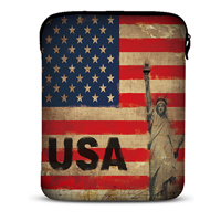 """Fasion USA 10''  bag for ipad 5 4 3 Universal Fit to10.1""""Galaxy note 2 Apple HP Dell Free shipping hard quality"""
