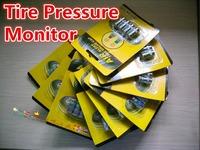 1 Set 2.0BAR, 2.2BAR, 2.4BAR Car Tyre Tire Pressure Monitor TPMS car valve cap indicator retail package wholesale Dropshipping