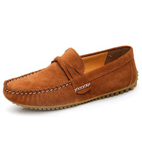 Designer Mens Suede Loafers Soft Rubber Outsole Men Velvet Loafers For Driving Moccasin Shoes Man Loafer Sapatos Size 38 - 44