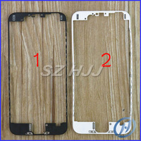 Front Frame For iPhone 6 4.7 inch Mid Frame LCD Bracket Housing Middle Bezel Frame for iPhone6 4.7'' Black and White