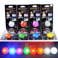 Enjoying Spotlit LED Lights for Dogs Puppy Cats Doggie Pets colours