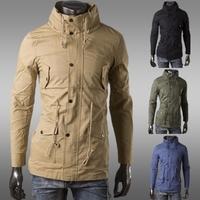 New Arrival Men's Winter&Autumn Jacket, Windbreaker Fashion Brand Men's Coats,Slim Fit.free shipping. ZJK43