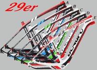 Dengfu 29er carbon frameset, rigide design carbon mtb frame, mountain bike frames 29er fm056