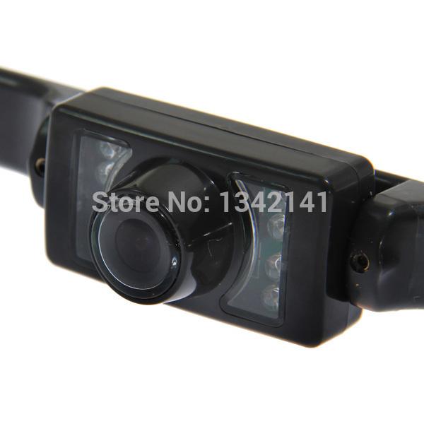 WD-622 PAL License Plate 110 Degree CMOS Car Rear View Backup Camera Night Vision Reverse Backup Parking Camera Free Shipping(China (Mainland))