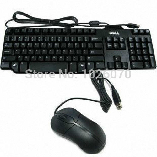USB 2.0 Wired Mouse Keyboard Kit for DELL HP LENOVO SONY ASUS ACER Laptop PC Desktop Computer SK-8115(China (Mainland))