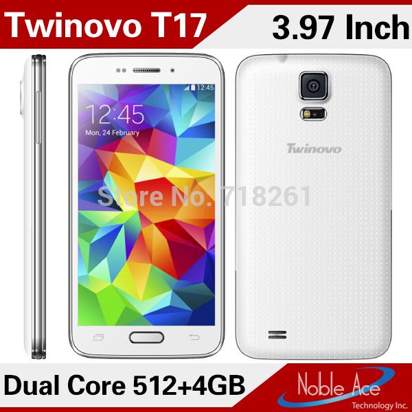 Twinovo T17 Telephone Dual Core MTK6572 Android OS 4.2 Dual Card 512MB 4GB 3.97inch HD Screen GPS WIFI(China (Mainland))