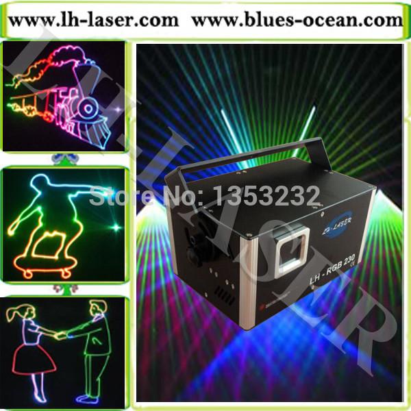 Analog 2w rgb high power laser light animation laser light programmable laser lights 2w RGB laser light with SD card(China (Mainland))
