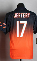wholesale 2014 Drift Fashion II Elite Chicago 17 Alshon Jeffery Blue Elite football Jerseys ,Size 40,44,48,52,56,mix order