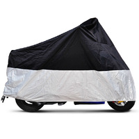 Motorcycle Cover Dustproof Waterproof Rainproof UV resistant Cover for Motorcycle Moped Scooter