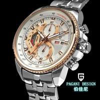 2014 Pagani Design(CX-0002) Military Watch for Men Japan Quartz  30m Dive Waterproof men stainless steel sports watches