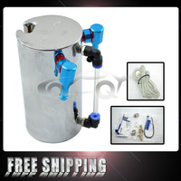 FREE SHIPPING Mirror Polished Cusco Oil Catch Tank&can tank with complete kits