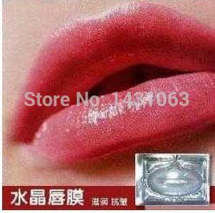 15pcs Guarantee Crystal Collagen Lip Mask Lip Membrane Keeping Moisture Mask(China (Mainland))