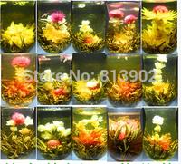 22 Different chinese handmade flower blooming tea ball artistic tea health and beauty organic natural flower tea