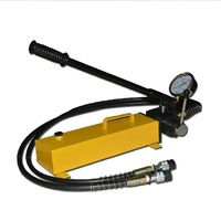 power pack unit double action manual hydraulic pump