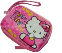 10pc/lot  Factory Sale Fashion Hello kitty coin bag  camera bag cellphone bag Coin Purses wallet  13.5*9.5*2.5cm  KB918-8
