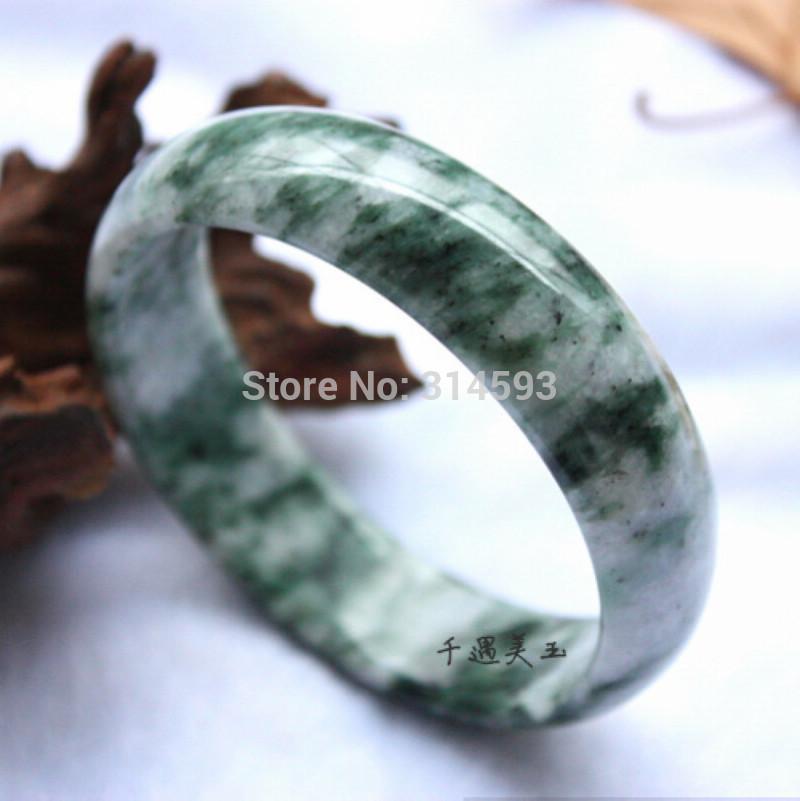 s1267 Free Box Certificate /100% Natural Jade Bracelets Bangle Woman of gift free shipping(China (Mainland))