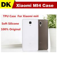 Free shipping XIAOMI MI4 Case Soft Silicone TPU Case Protective Cover Case For Xiaomi mi4 phone