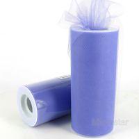 """Free Shipping 6"""" 25 Yard 75 Feet Lilac  Wedding Tulle Roll Spool Tutu Party Gift Craft Bow Wrap Birthday Wedding Decoration"""