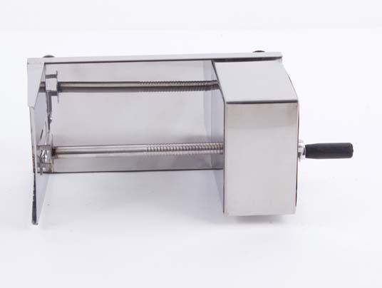 Nutcracker venda quente 2015 máquina de batata Tornado Manual máquina de corte espiral máquina cortador de batata / batata Chips grátis frete(China (Mainland))