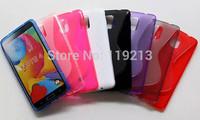 DHL Free Note 4 TPU Case S Line Soft TPU Gel Skin Cover Case for Samsung Galaxy Note 4