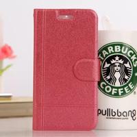 10pcs/lot Luxury Silk Grain Flip Leather Case Cover For Xiaomi MI4 M4,Phone Cases Wholesale