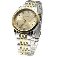 Top Brand Luxury Gold/Silver Stainless Steel Band/Strap Quartz Watch Watches Men Luxury Brand