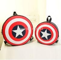 Euramerican Popular Avengers Captain America Shield Student Backpack Book school Bag Gift