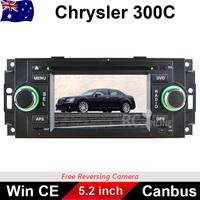 Car DVD GPS Player For CHRYSLER 300 300C Voyager PT Cruiser Sebring Town&Country