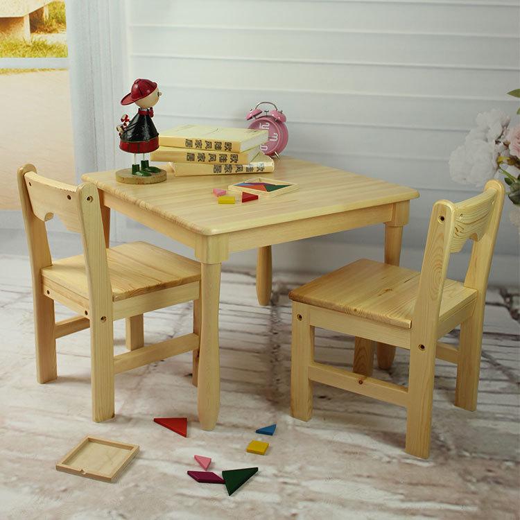 600 mm mesa cuadrada ni os que escriben mesa montessori - Mesas infantiles madera ...