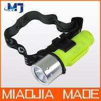 CREE XM-L T6 LED diving Underwater Waterproof Flashlight headlight headlamp Torch Light Lamp 1800Lm 26650 18650 AAA