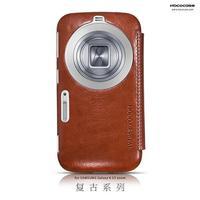 30pcs/lot Original HOCO Retro Series Flip Leather Case For Samsung Galaxy S5 K Zoom C1158 ,+Retail + DHL Free shipping