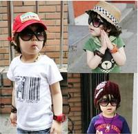 2014 Fashion Vintage Sun Glasses Children Protection Optical Sunglasses Oculos Photochromic Gafas Kids Goggles
