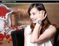 Han edition female authentic fashion big dial diamond watch