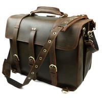 New Vintage Casual Genuine Leather Cowhide Crazy Horse Leather Men Travel Handbag Messenger Bag Shoulder Bag Bags For Men 6376