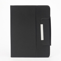 New Arrival Universal 10 inch Flip PU Leather Case Four Hook Angle Adjustable For Android Tablet PC 10inch Stand Covers 5 Colors