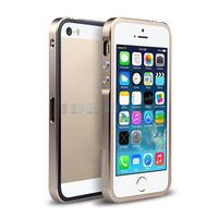 Elegant Ultra Slim Thin Metal Aluminum Bumper Frame Case Cover for Apple iPhone 5 5S 1pc Free ship