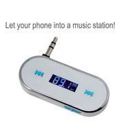 Wireless Car Kit Music Radio MP3 FM Transmitter For iPod iPad iPhone 4 4S 5 Galaxy S2 S3 HTC