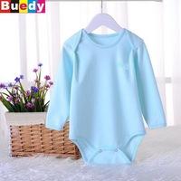 4-12M New Baby Romper Newborn baby long sleeve pajamas hedging activity bag fart Romper ropa bebe Buedy