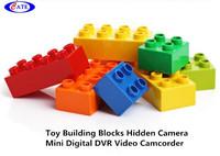 Unique Design black and white building blocks,Support 16GB kid's digital wireless camera AVP007